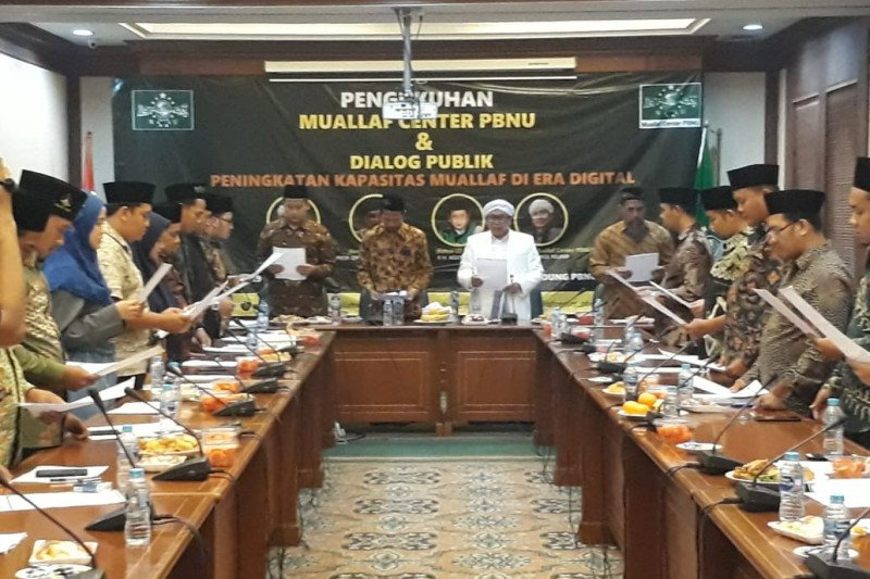 Nahdlatul Ulama siap bina 573 orang baru masuk Islam