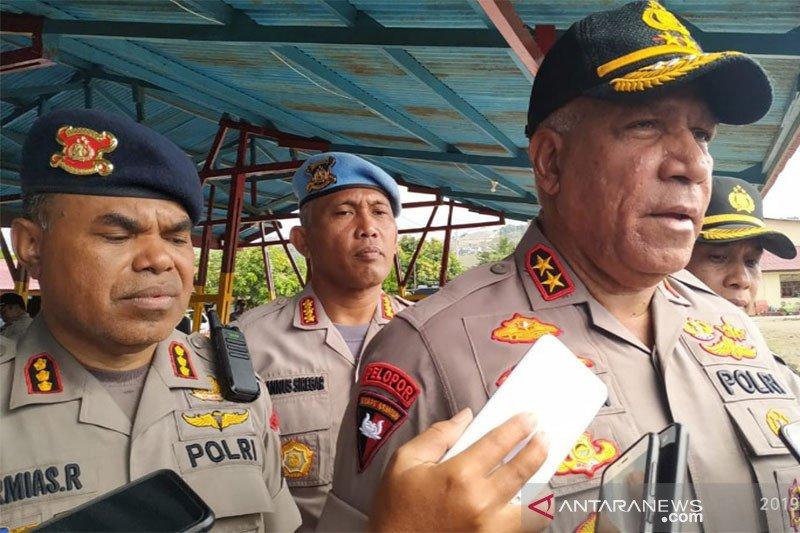 Kapolda Waterpauw akui terduga teroris ke Papua tidak serentak