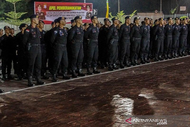Rusuh di Dekai, satu anggota brimob asal Polda Riau meninggal