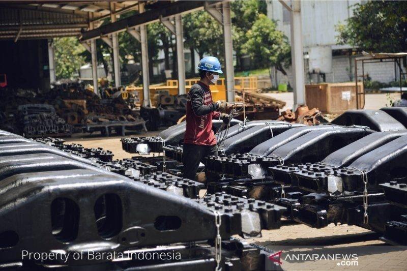 Ekspor komponen kereta api Indonesia pada 2019 naik dua kali lipat