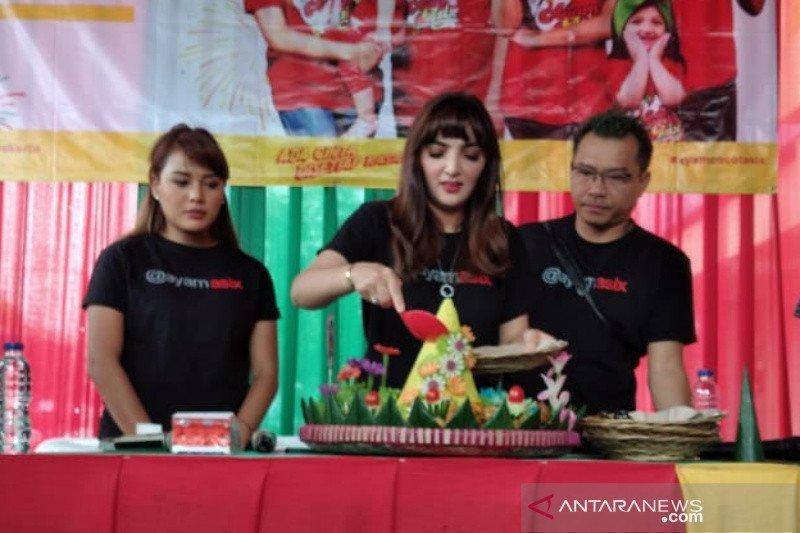 Anang-Ashanty bisnis kuliner di Purwokerto