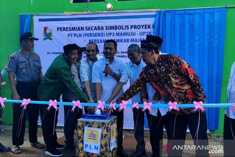 PT PLN aliri listrik delapan desa di Kabupaten Majene