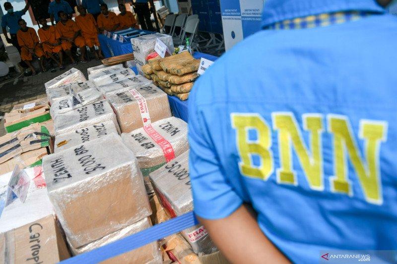 BNN ungkap 33.371 kasus narkotika sepanjang 2019