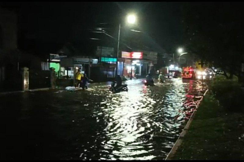 Jumlah warga terdampak banjir Bukittinggi 132 KK, tersebar di tiga kecamatan