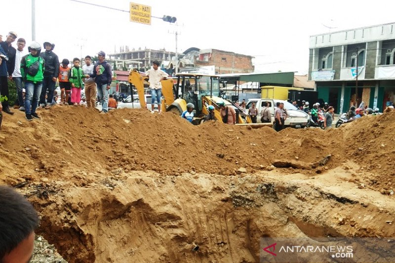 Bencana alam terjadi di 13 lokasi di wilayah hukum Polres Bukittinggi, berikut titiknya