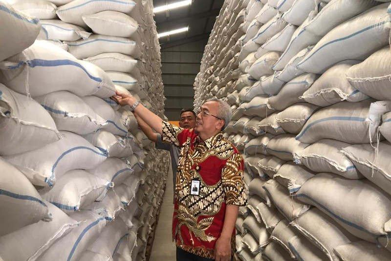 Bulog Jateng kantongi stok 143.749 ton beras hadapi Natal dan Tahun Baru 2020