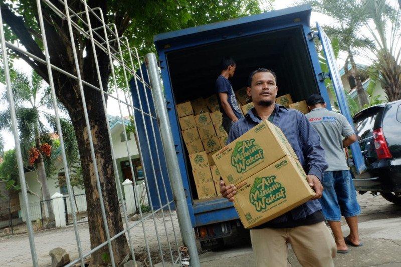 ACT Madiun distribusikan 1.700 karton air mineral