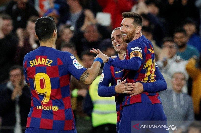 Barcelona hantam tamunya Alaves, Sevilla kalahkan Mallorca