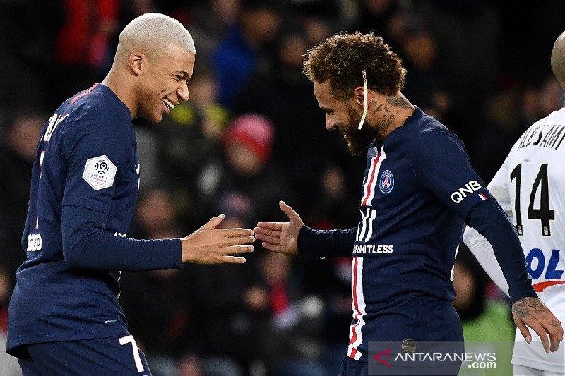 PSG tutup 2019 dengan kemenangan atas Amiens 4-1
