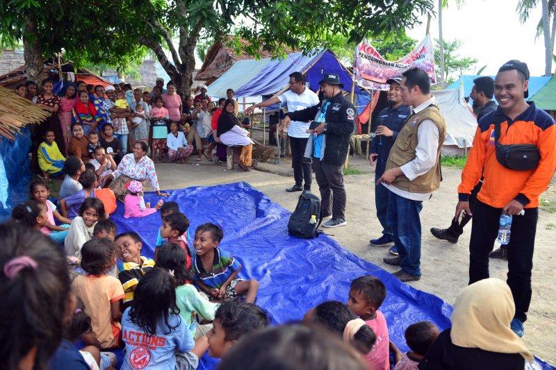 Pengungsi Pulau Haruku ingin segera kembali ke rumah
