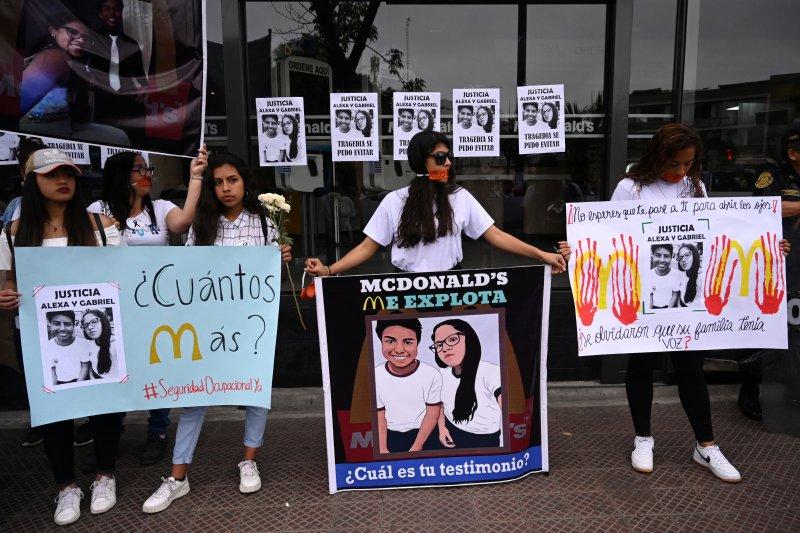 Waralaba McDonald di Latin Amerika disebut langgar keselamatan kerja