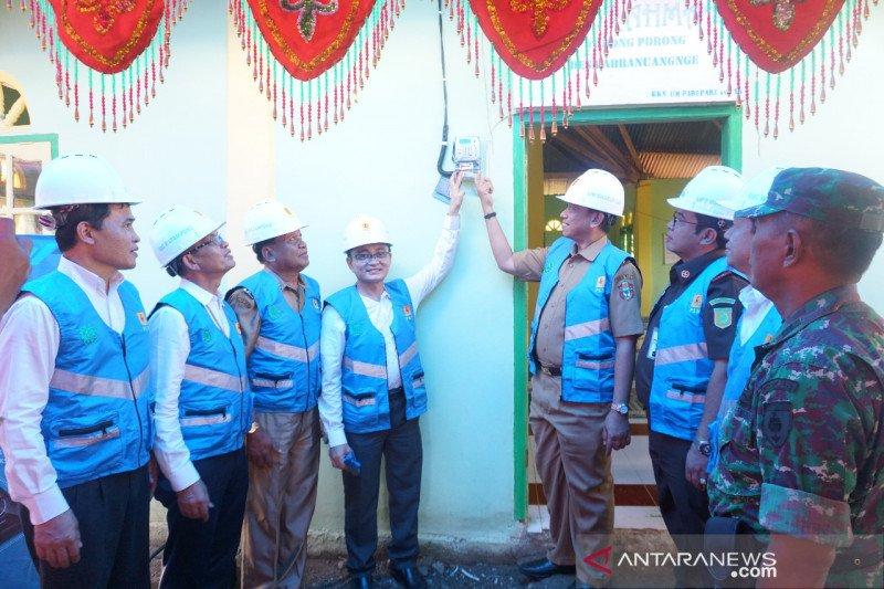 PLN terangi 12 desa di Kabupaten Wajo