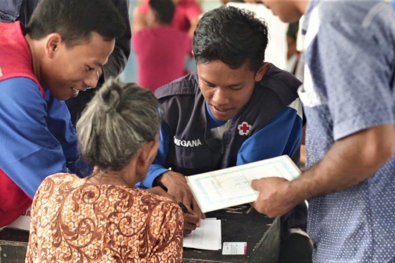 PMI serahkan bantuan nontunai kepada 4.000 Kepala Keluarga korban gempa Lombok