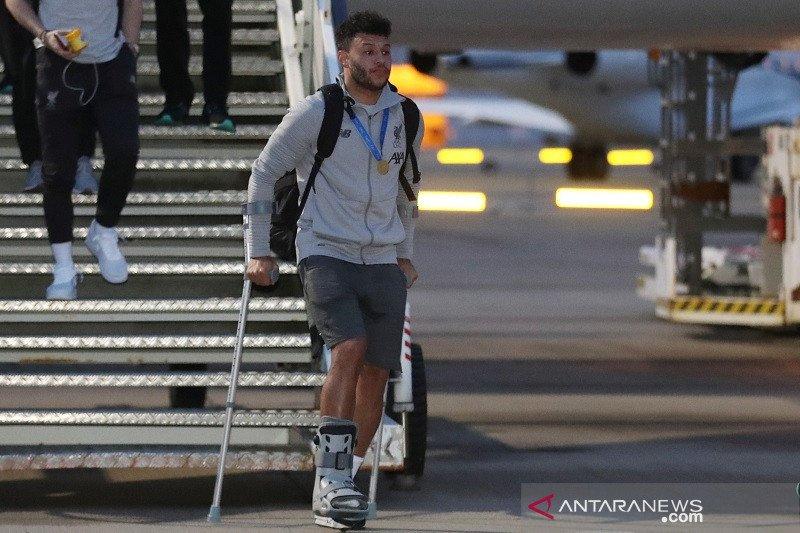 Cedera, Oxlade-Chamberlain bakal absen hingga dua pekan