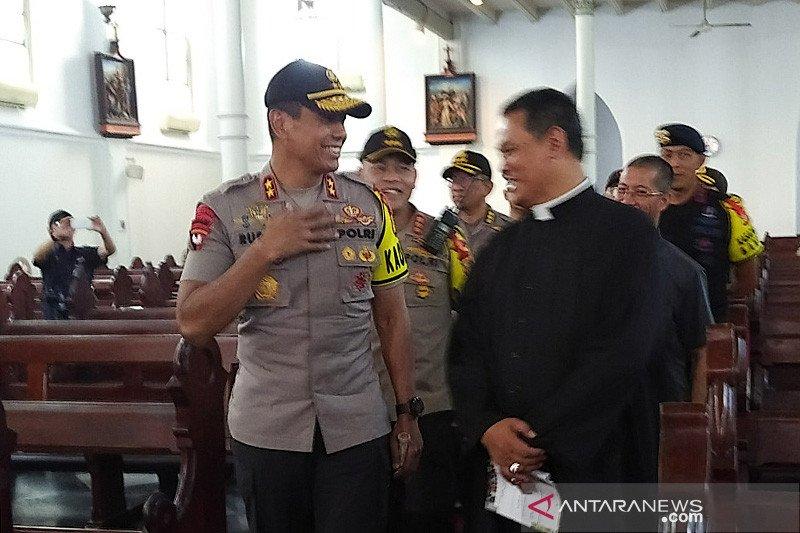 Kapolda Jabar kunjungi Gereja Katedral Bogor