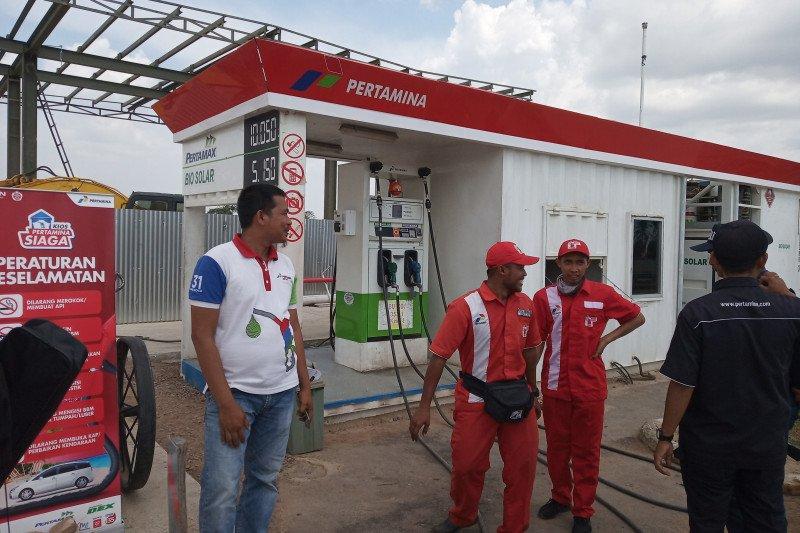 Penjualan tertinggi BBM berada di SPBU Km 87A Jalan Tol Sumatera