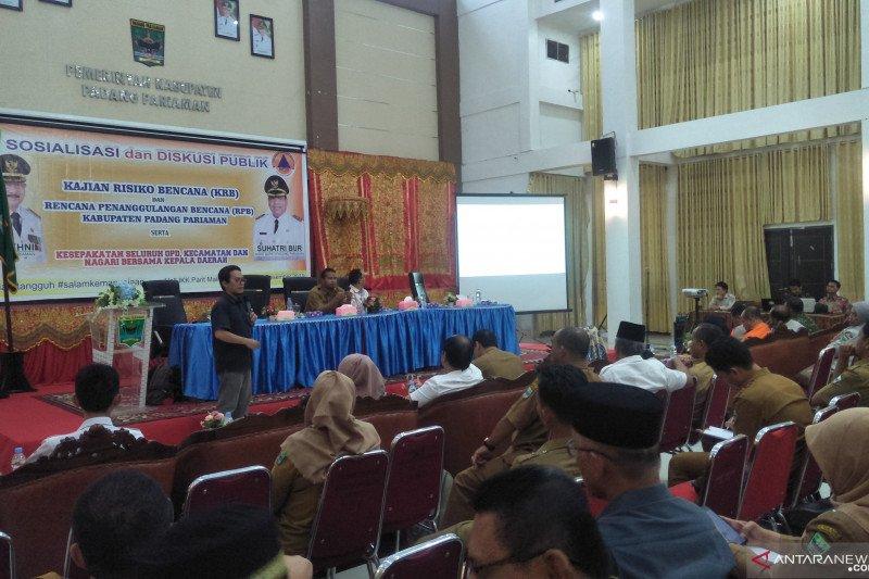 40 persen warga Padang Pariaman terancam banjir, abrasi dan tsunami, ini penyebabnya
