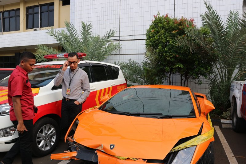 Pengemudi Lamborghini penodong senjata api diduga lakukan penghindaran pajak