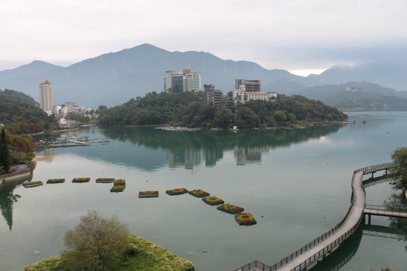 Danau Matahari Bulan, surga bagi pecinta gowes di Taiwan