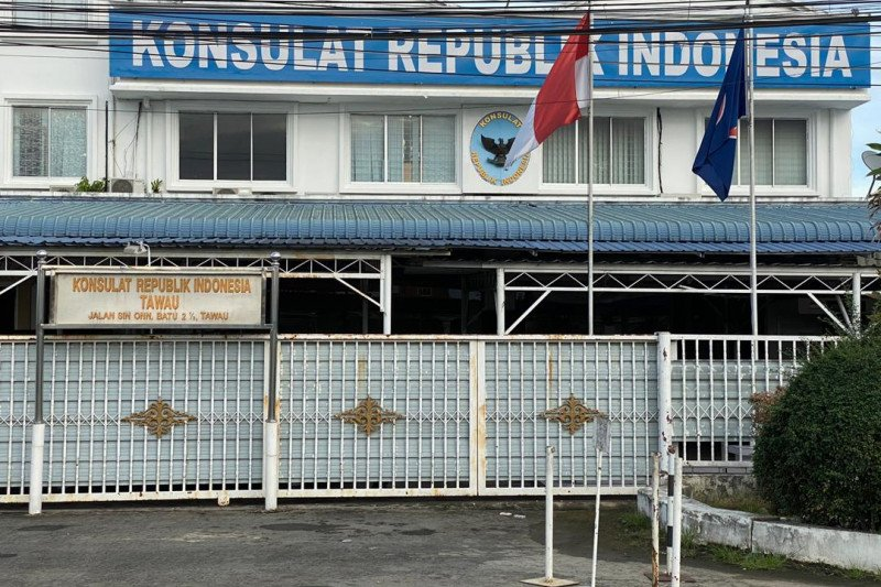 Bantuan sembako WNI terdampak COVID-19 disalurkan Konsulat RI di Tawau