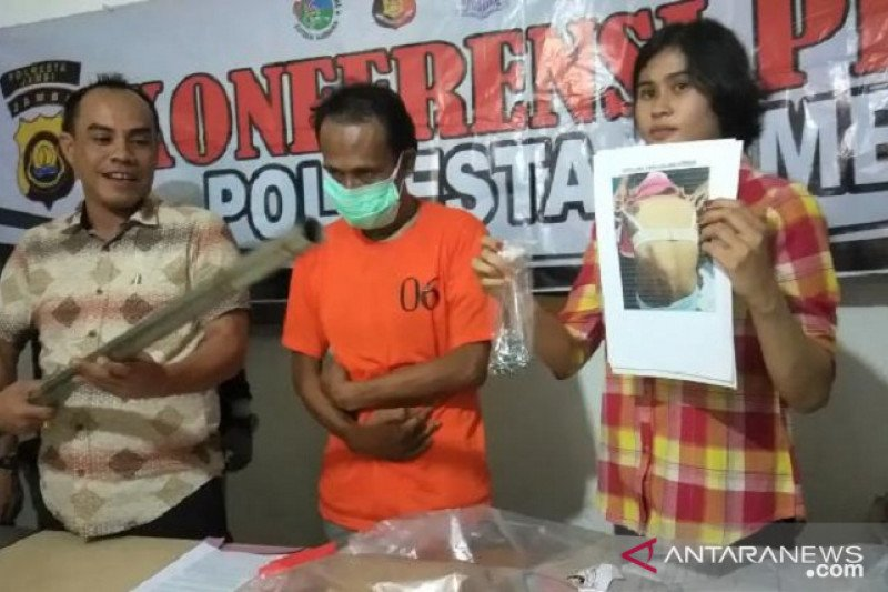 Polresta Jambi tangkap suami aniaya istri