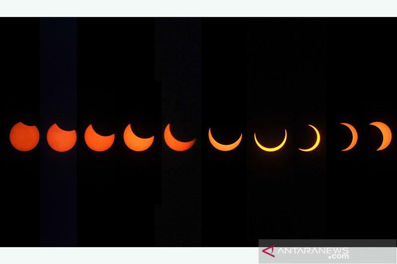 Lapan sebut Indonesia hanya bisa saksikan gerhana matahari sebagian