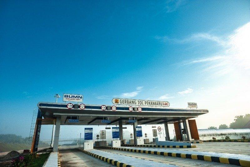 Pembangunan Tol Pekanbaru-Dumai capai 90 persen, begini target selesainya