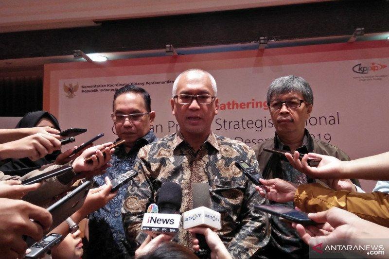 30 proyek strategis nasional tuntas dikerjakan pada 2019