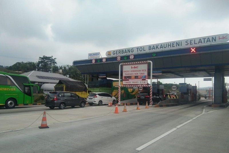 Selama arus mudik Natal dan Tahun Baru 2020, Tol Trans Sumatra telah dilintasi lebih dari sejuta orang