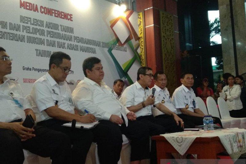"Menkumham targetkan ""Omnibus Law"" dibahas DPR pada Januari 2020"