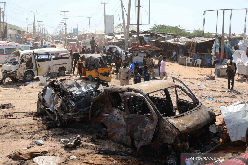 Bom mobil di Somalia hantam kelompok kontraktor Turki