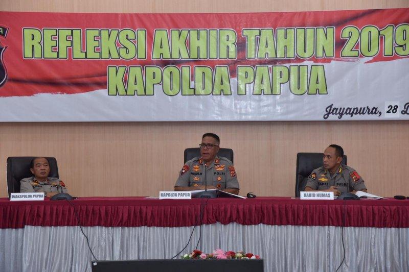 Selama 2019 Polda Papua tangani 23 kasus kelompok sipil bersenjata