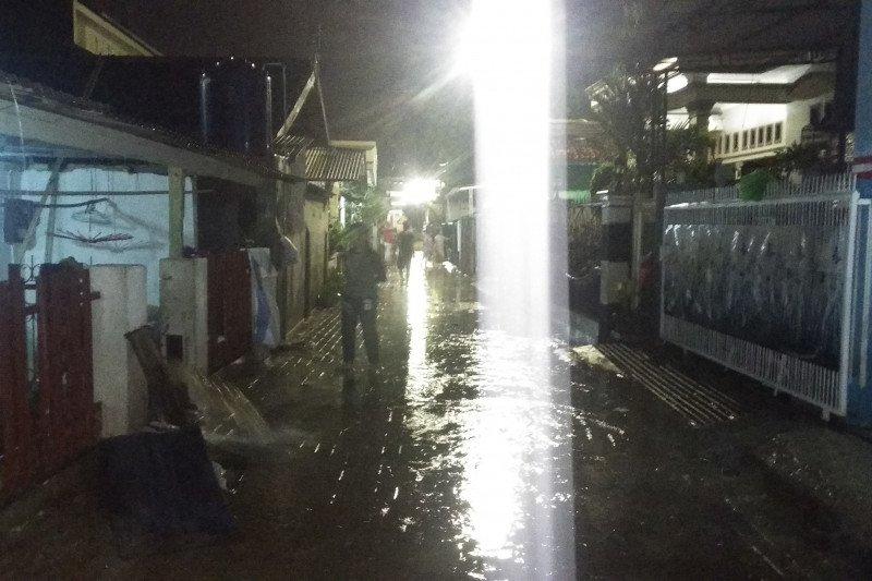 Sejumlah tempat di Kota Bandarlampung alami banjir