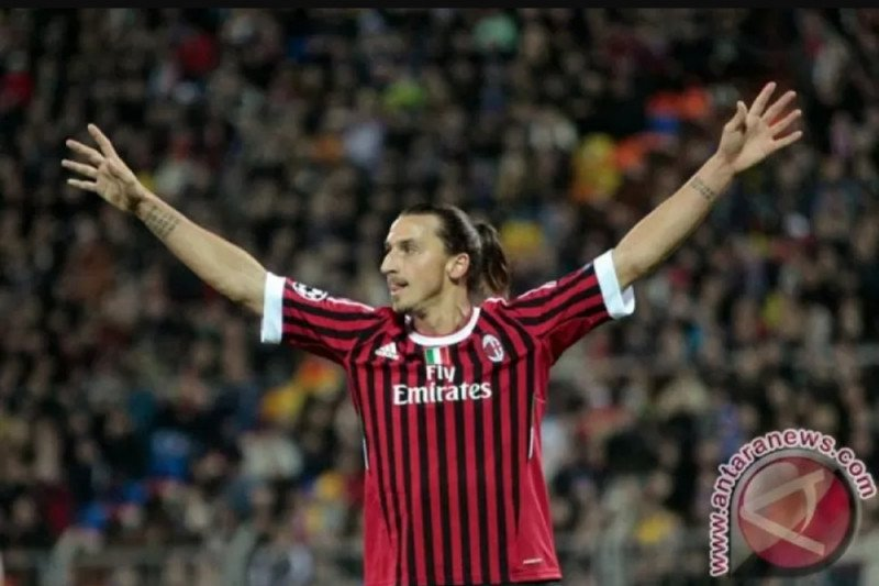 Milan kontrak Ibrahimovic 3,5 juta euro selama enam bulan