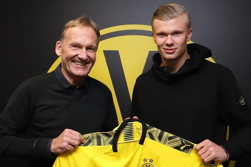 Haaland resmi gabung Dortmund