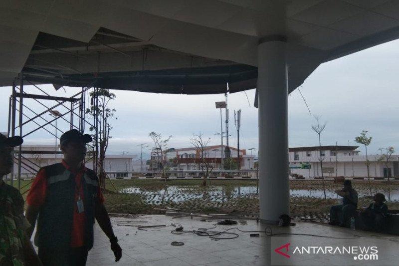 Plafon jatuh, AP I: Penerbangan di Bandara Banjarmasin normal