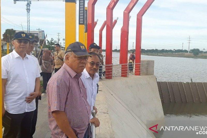 Menteri PUPR: Bendung gerak dapat tingkatkan pasokan air baku Kota Semarang