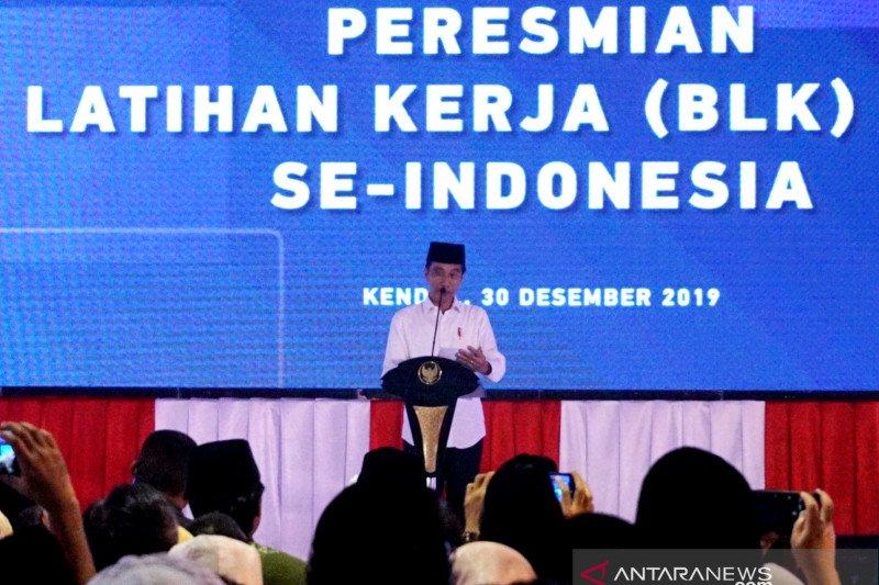 Jokowi apresiasi pertumbuhan ekonomi stabil berkat doa ulama