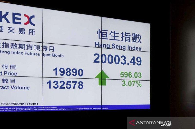 Saham Hong Kong terus menguat, indeks HSI bertambah 0,49 persen