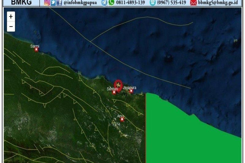 69 kali gempa telah guncang Papua  dan Papua Barat