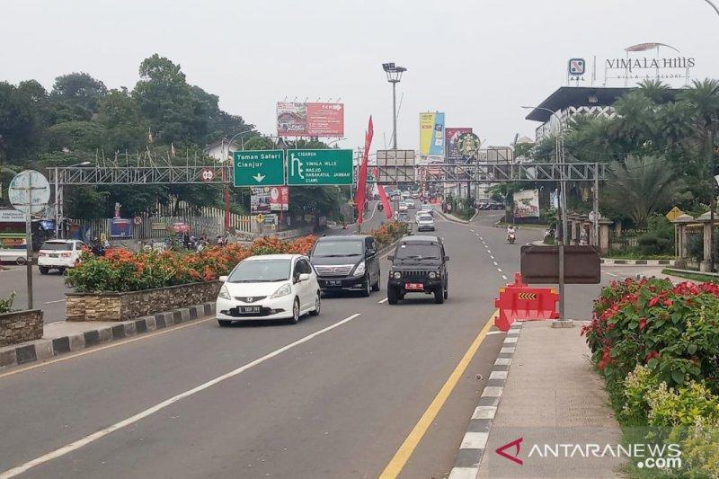 Polres Bogor rekomendasikan dua jalur alternatif selama CFN di Puncak