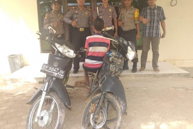 Polsek Kalirejo tangkap pelaku pencuri motor