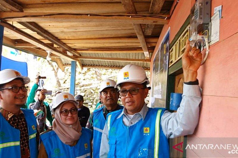 PLN  alirkan listrik di enam desa Kabupaten Luwu Utara