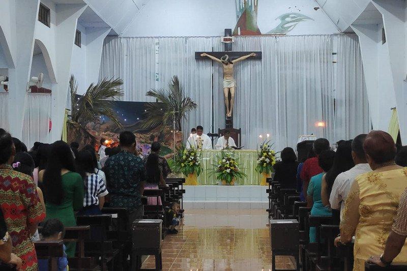 Umat Katolik syukuri 2019 dengan Misa Kudus