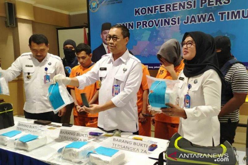 BNNP ungkap peredaran 8 kilogram sabu-sabu jaringan Malaysia-Madura