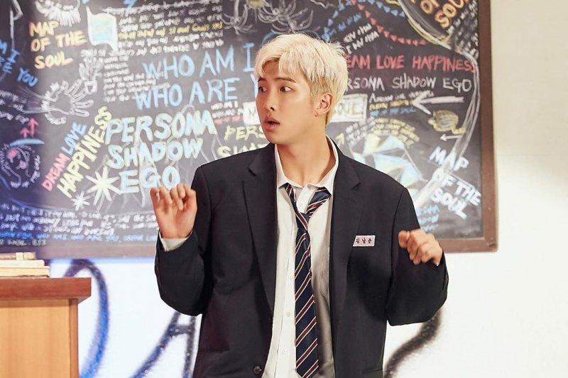 RM BTS kolaborasi bareng penyanyi Younha