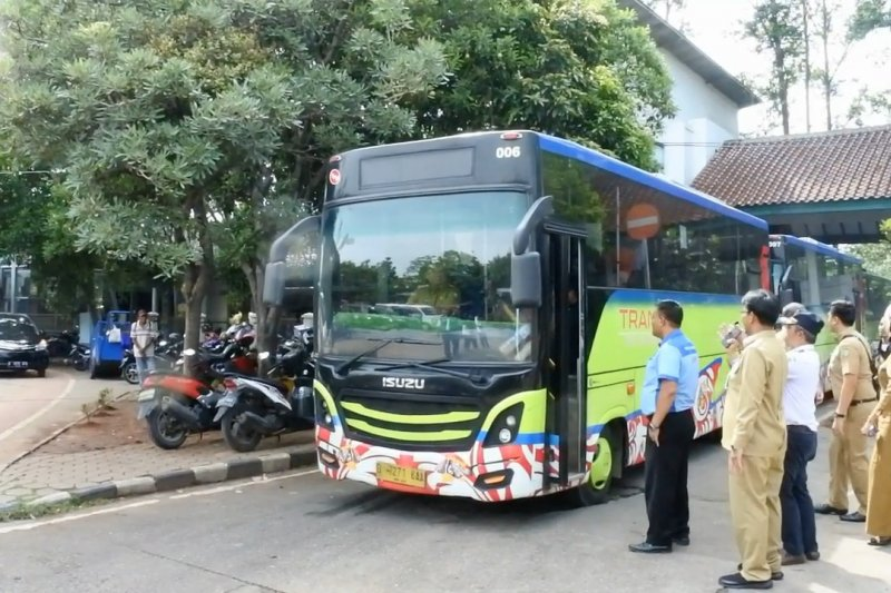 Wali Kota Tangerang temukan 1 bus tak layak jalan