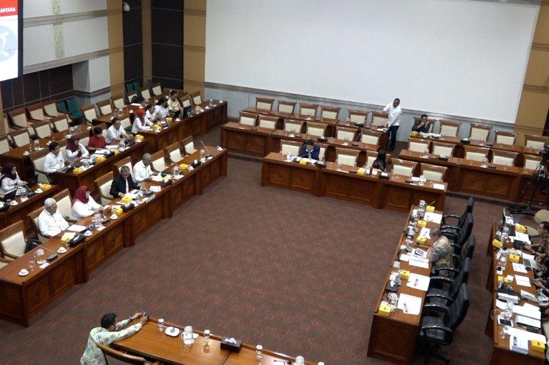 Komisi I DPR gelar Rapat Dengar Pendapat dengan LKBN Antara