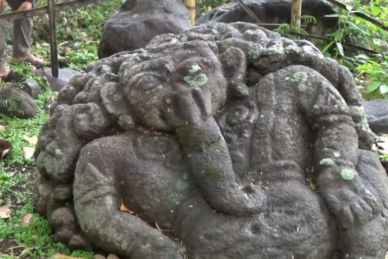 Warga Magetan temukan arca Ganesha Gimbal