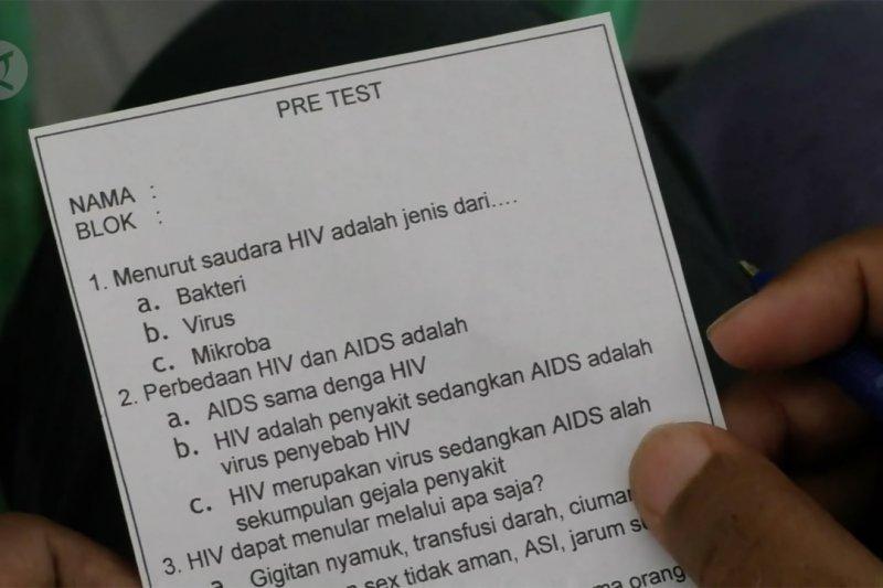 Mencegah penularan dan penyebaran HIV/Aids dari dalam lapas